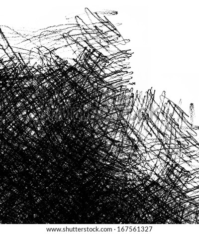 scratched grunge paper background - stock photo