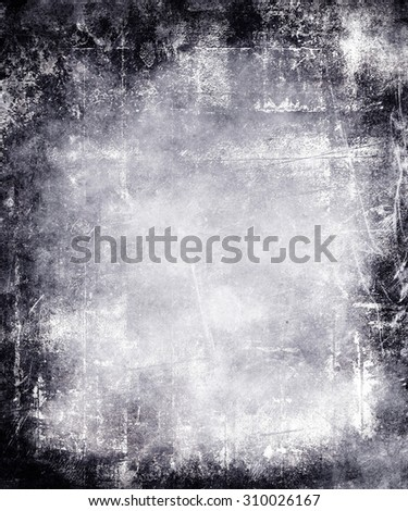scratched grungy texture background - stock photo