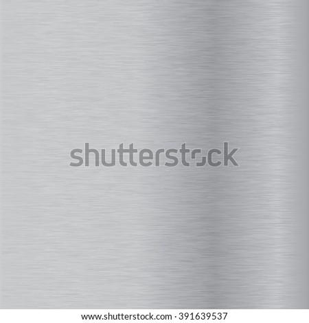 Scratched metal background. Illustration. Raster version. - stock photo