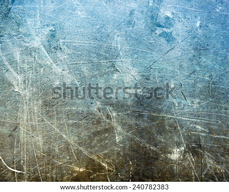 Scratched surface - stock photo