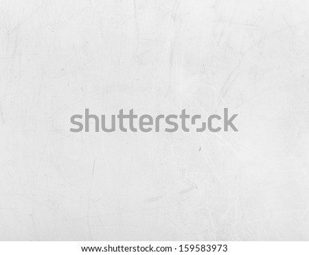 Scratched White Plastic Texture - stock photo