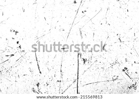 Scratches on white background - stock photo