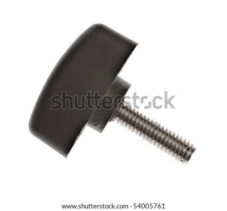 screw with plastic head - stock photo