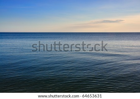 Sea at Huahin - stock photo