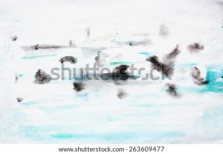 Sea background or Interesting background - stock photo