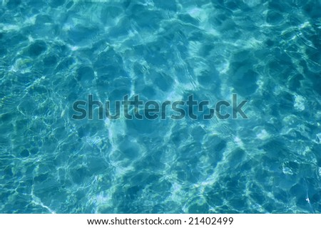 Sea blue water, background. - stock photo