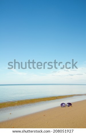 Sea day. beautiful ocean landscape - stock photo