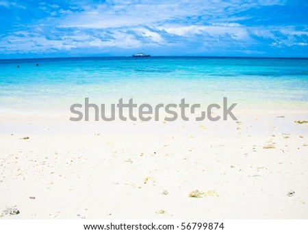 Sea Paradise - stock photo