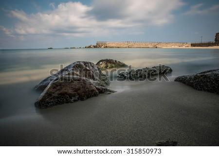 Sea Rocks - stock photo
