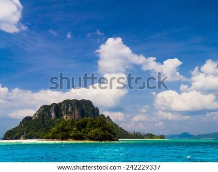 Sea Scene Exotic Getaway  - stock photo