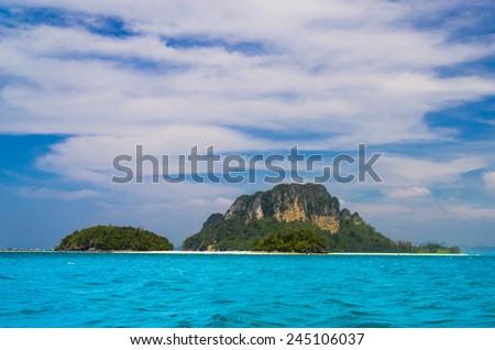 Sea Scene Heaven On Earth  - stock photo