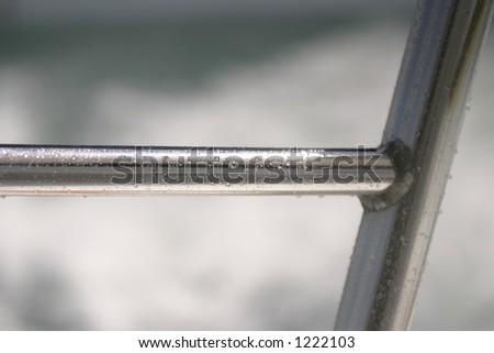 sea spray - stock photo