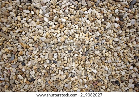 Sea stones background texture. - stock photo