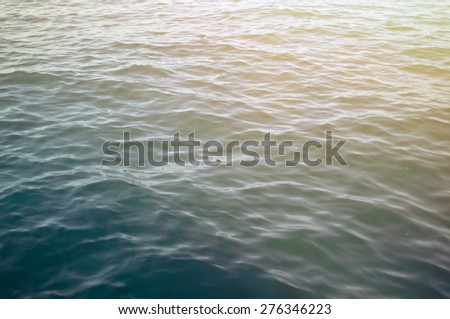 Sea surface - stock photo