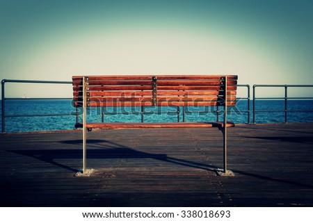 Sea View. Cyprus. Mediterranean. - stock photo