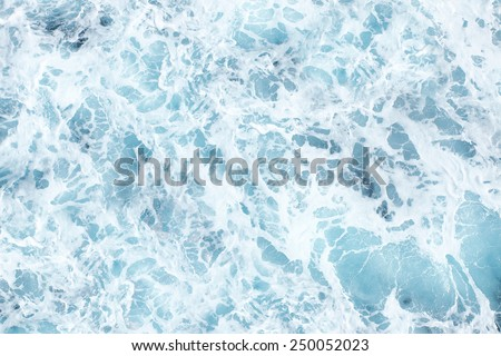 Sea water abstract background - stock photo