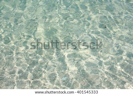 sea water green natural background texture,reflecting in the sun,close up,select focus with shallow depth of field - stock photo