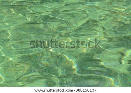 sea water.Infinity Focus. - stock photo