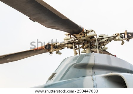 Seaking helicopter - stock photo