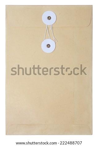 sealed file paper bag - stock photo