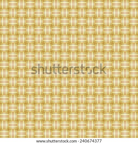 seamless abstract beige pattern sand texture with yellow line wicker brown background raster - stock photo