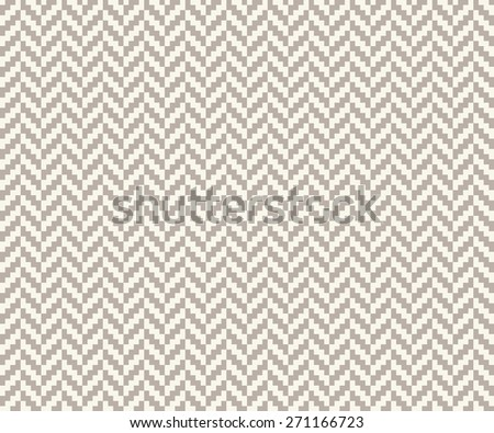 Seamless anthracite gray vintage pixel herringbone pattern - stock photo