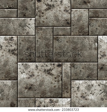 Seamless armor pattern background. - stock photo