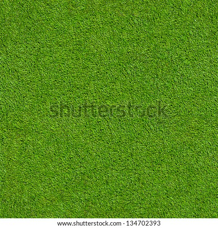 Seamless Artificial Grass Field Texture, fiine grain astro pitch - stock photo