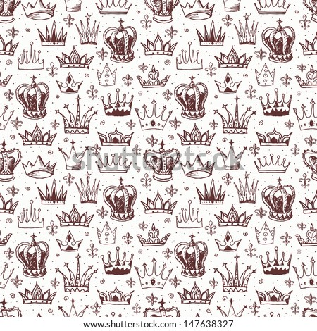 King Crown Wallpaper Silhouette head of a king and queen Stock Photos, Images, & Pictures ...