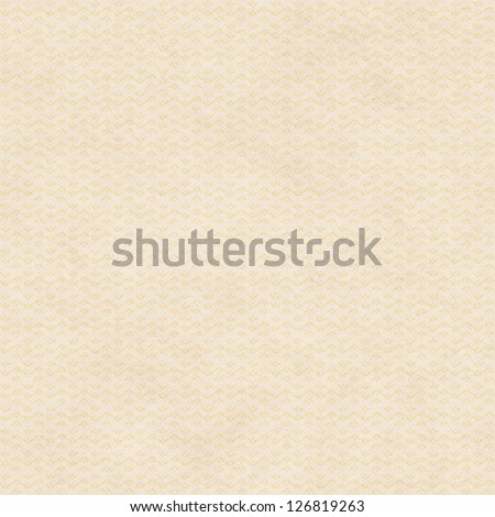 Seamless Background with Tan Paper Texture and Tiny Abstract Floral Pattern - stock photo