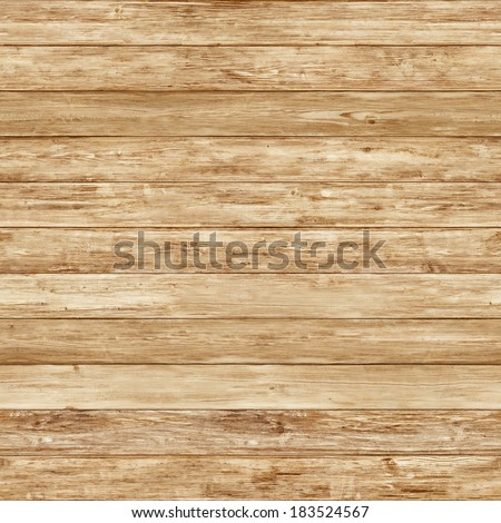Seamless bright yellow wood texture - stock photo