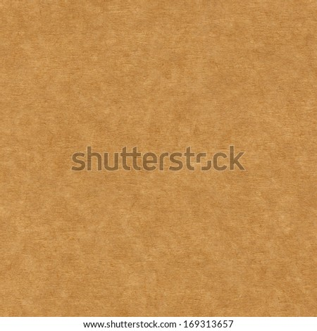 Seamless brown corrugated carboard background - stock photo