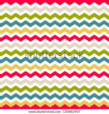 Seamless chevron background pattern - stock photo