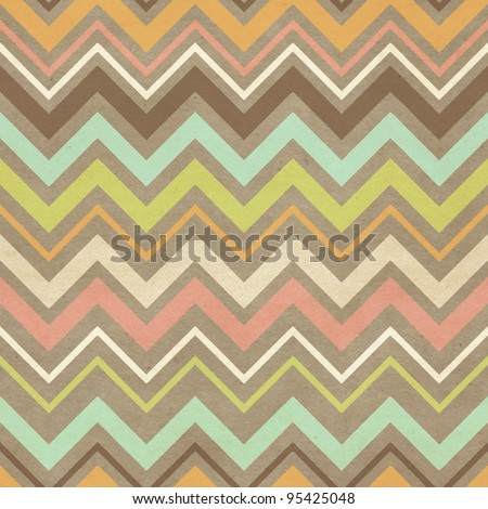 Seamless chevron pattern. Paper texture background - stock photo