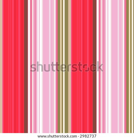 Seamless colourful striped background texture - stock photo