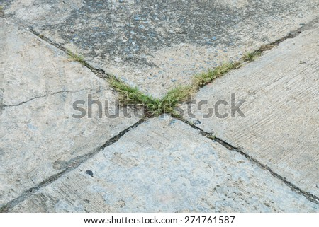 Seamless concrete - stock photo