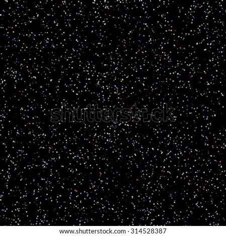 Seamless constellations background. Seamless pattern of galaxy, Raster illustration 1 - stock photo
