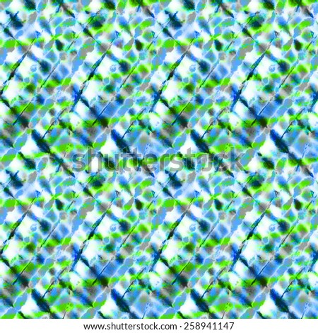 seamless diagonal tie dye pattern - stock photo