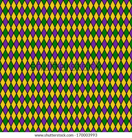 Seamless Diamond Pattern Stock Photo