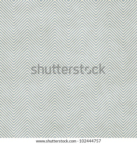 Seamless fine chevron patter on paper texture - stock photo