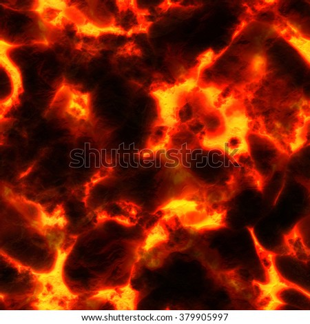 Seamless flaming background. A high resolution. - stock photo