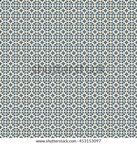 Seamless Geometric Pattern. Abstract Minimal  texture. 3D Render. - stock photo