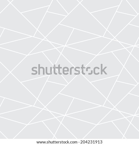 Seamless geometric simple pattern - gray abstract background for design - stock photo