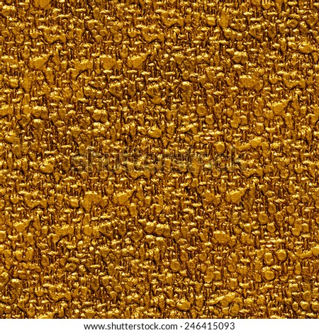 Seamless gold surface background. - stock photo