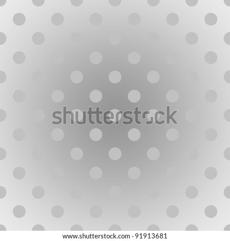 Seamless Gradient Dot Background - stock photo