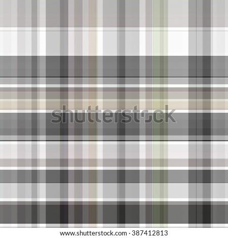 Seamless grey background of plaid pattern - stock photo