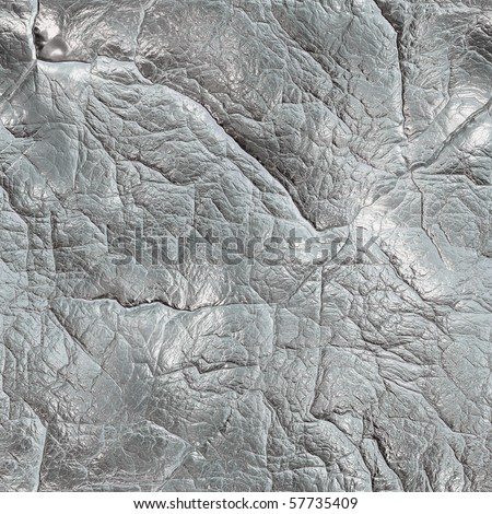 seamless grunge silver metal texture (big collection) - stock photo