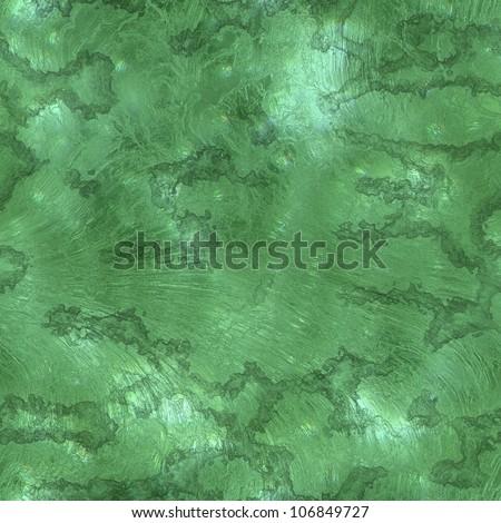 Seamless Hi-res (5000x5000) texture of Malachite stone wall - stock photo