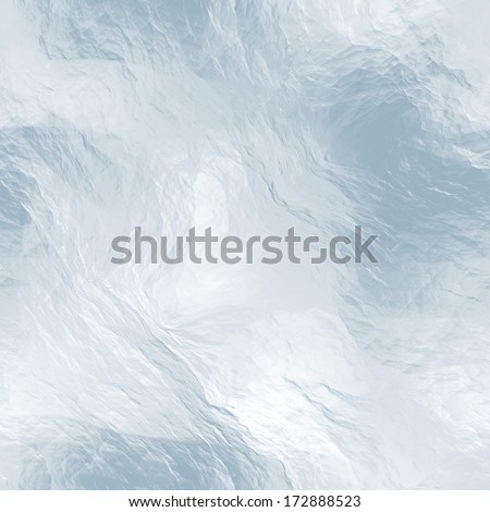 Seamless ice texture (computer graphic, big collection) - stock photo
