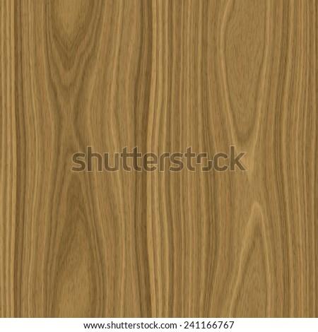 Seamless light brown oak wood texture illustration - stock photo